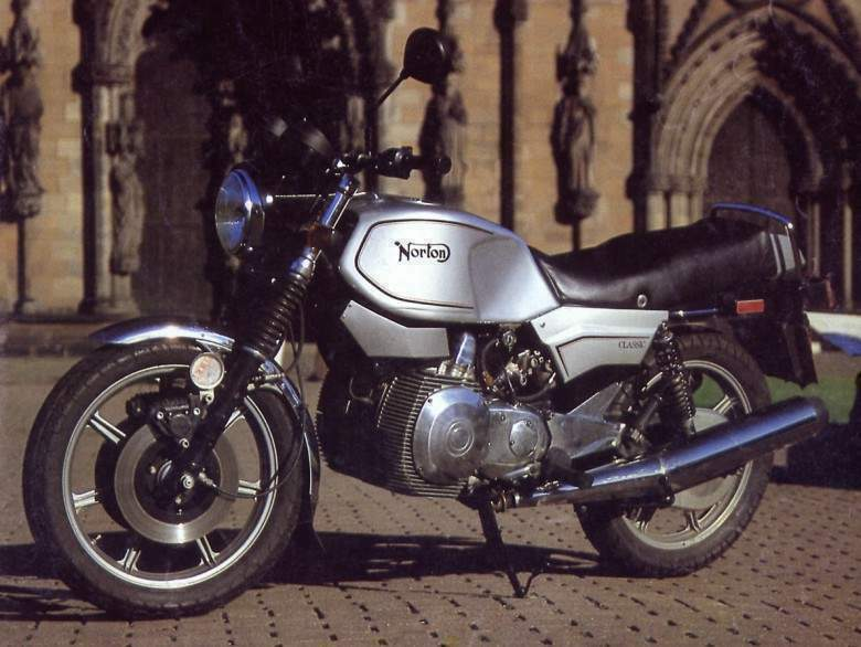 Мотоцикл Norton Interpol 2 Classic 1988