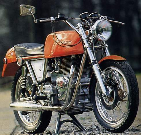 Мотоцикл Richman Interceptor 1970