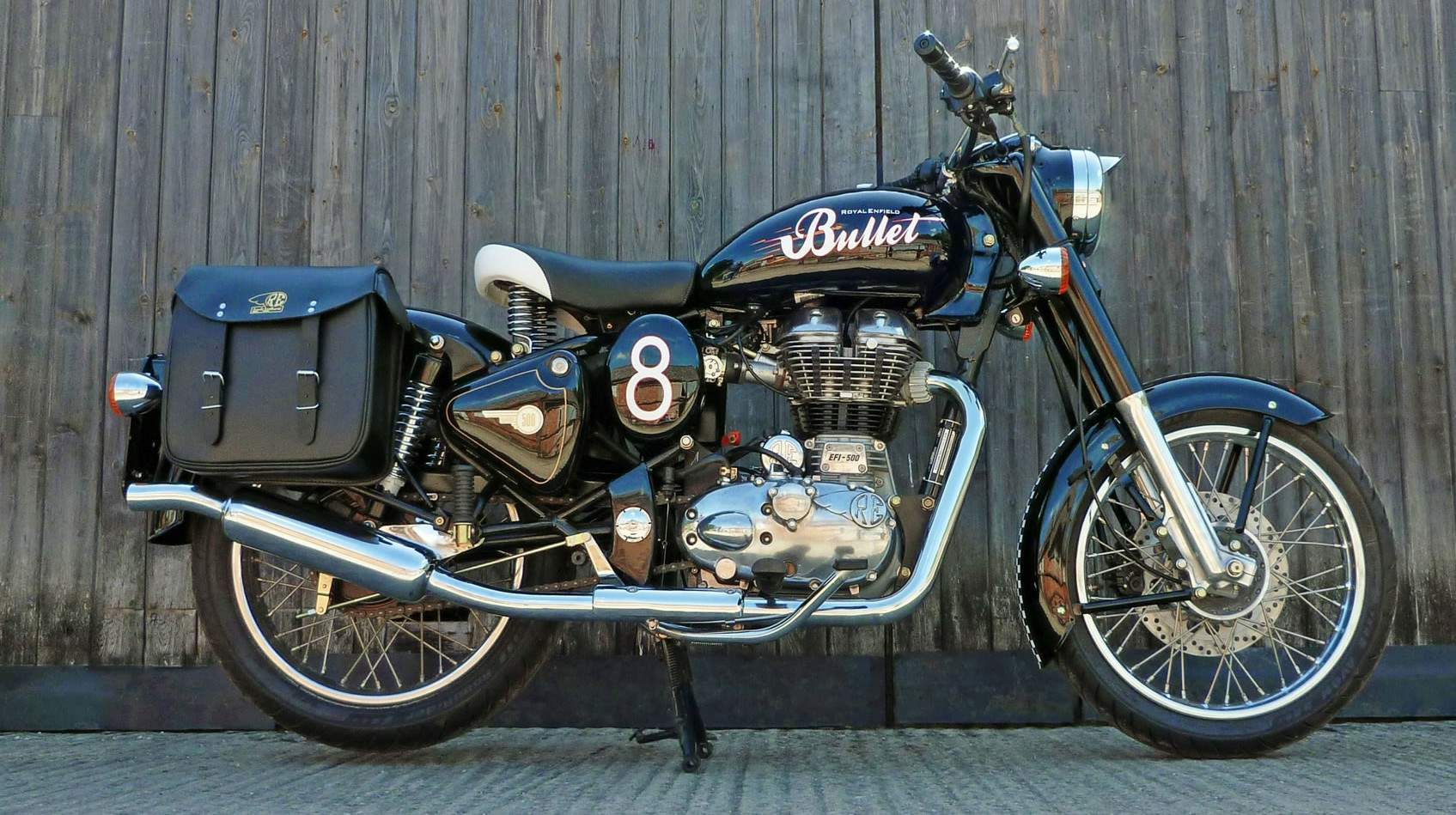 Мотоцикл Royal Enfield Bullet 500 Classic Lewis Leathers Limited Edition 2011