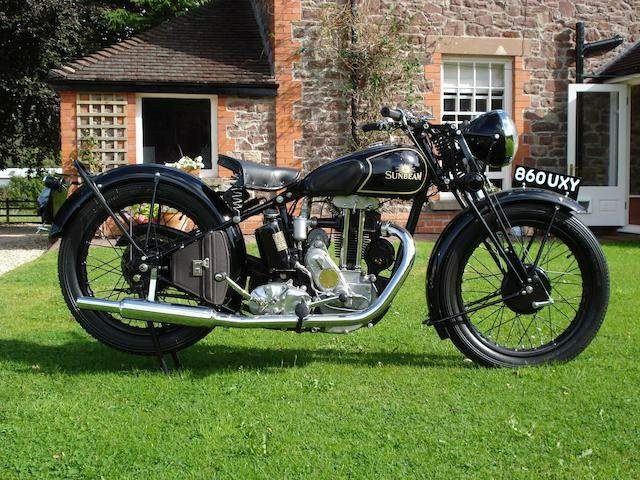 Мотоцикл Sunbeam Model 14 1933