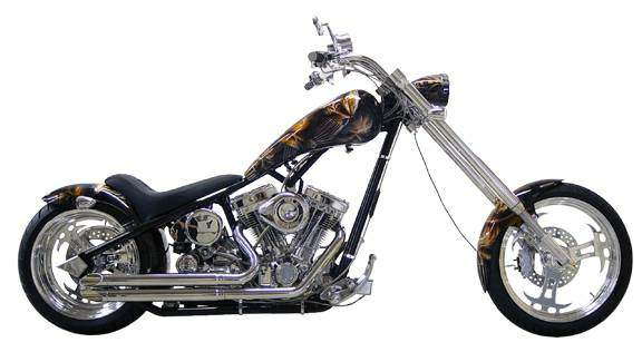 Мотоцикл Titan Sidewinder Radical Rigid Hard tail Chopper 0