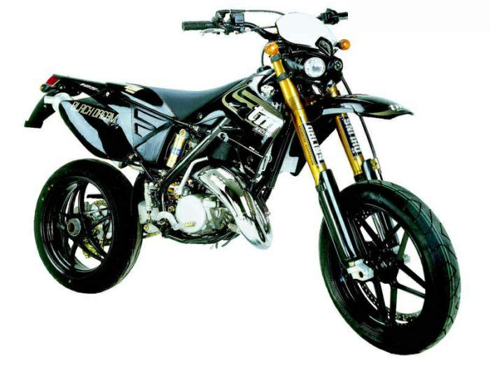 Мотоцикл TM Racing SMM 125 Black Dream 2006