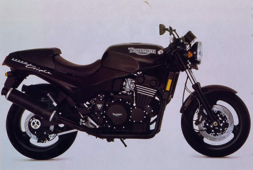 Мотоцикл Triumph Speed Triple 750 1994