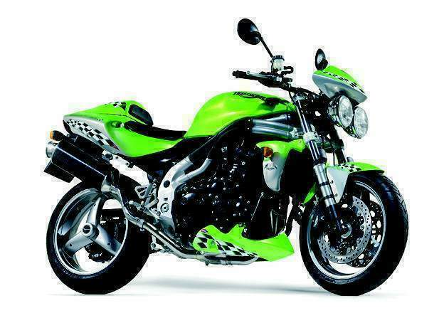 Мотоцикл Triumph Speed Triple 955i 2001