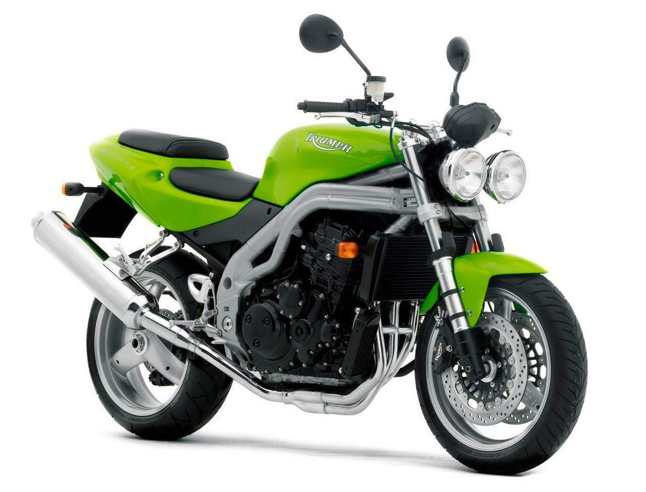 Мотоцикл Triumph Speed Triple 955i 2003