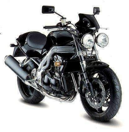 Мотоцикл Triumph Speed Triple T509 1998