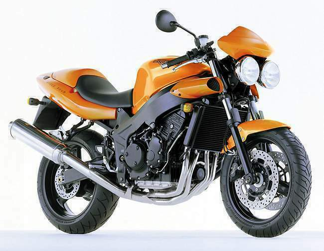 Мотоцикл Triumph Speed Triple T509 1997