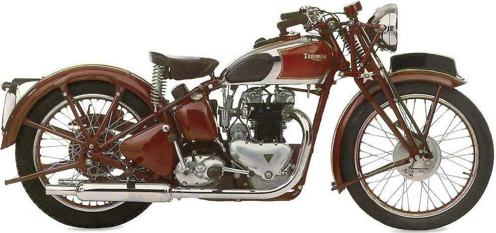 Мотоцикл Triumph Speed Twin 500 1938