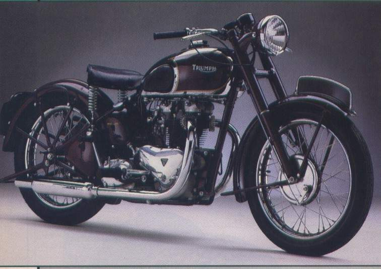 Мотоцикл Triumph Speed Twin 500 1947