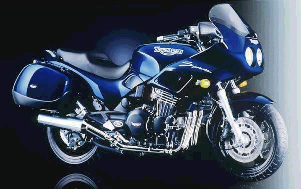 Мотоцикл Triumph Sprint 900 Exclusive 1998