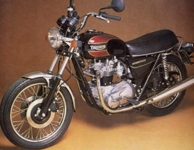 Мотоцикл Triumph T 140E 750 B onneville Final Edition 1981