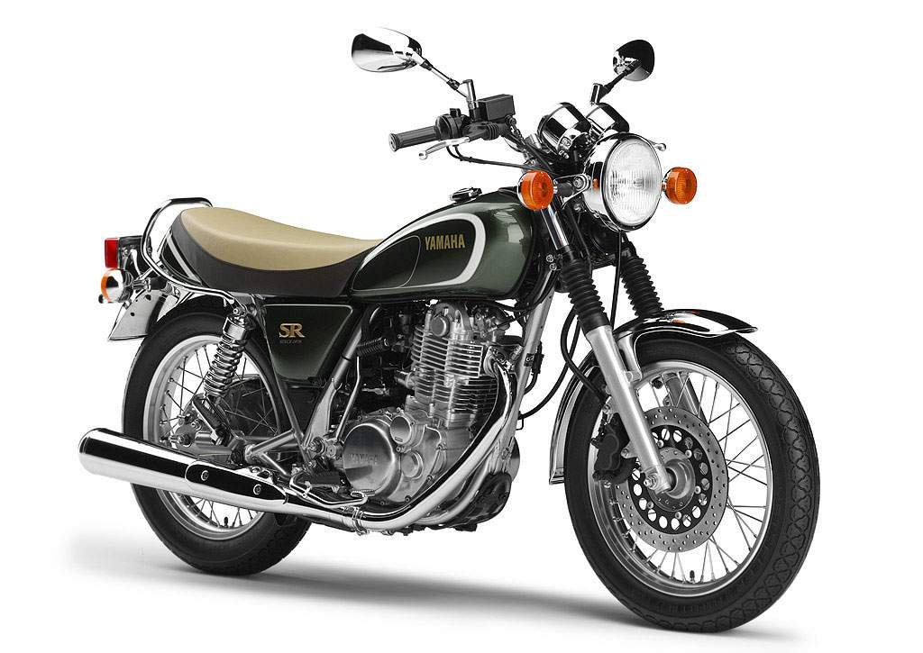 Мотоцикл Yamaha SR 400 35th Anniversary Edition 2013