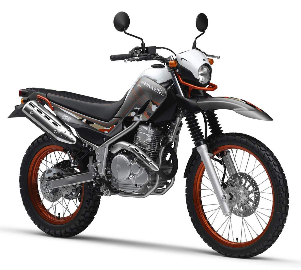 Мотоцикл Yamaha XT 250 Serow 30th Anniversary Special Edition 2015